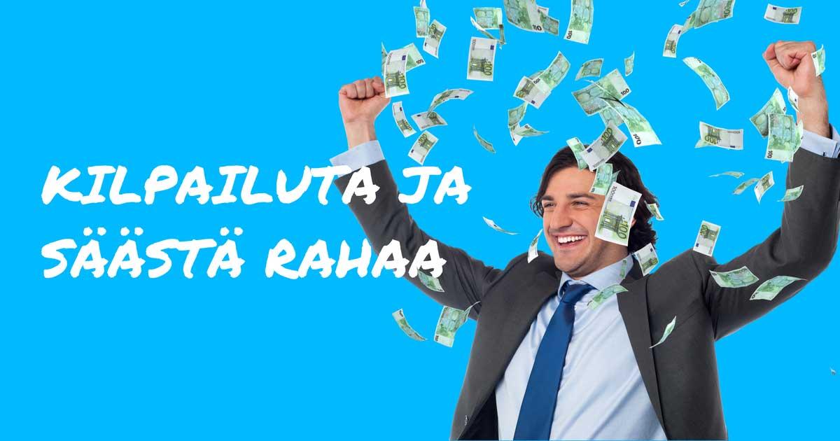 Kilpailuta lainasi ja säästä selvää rahaa