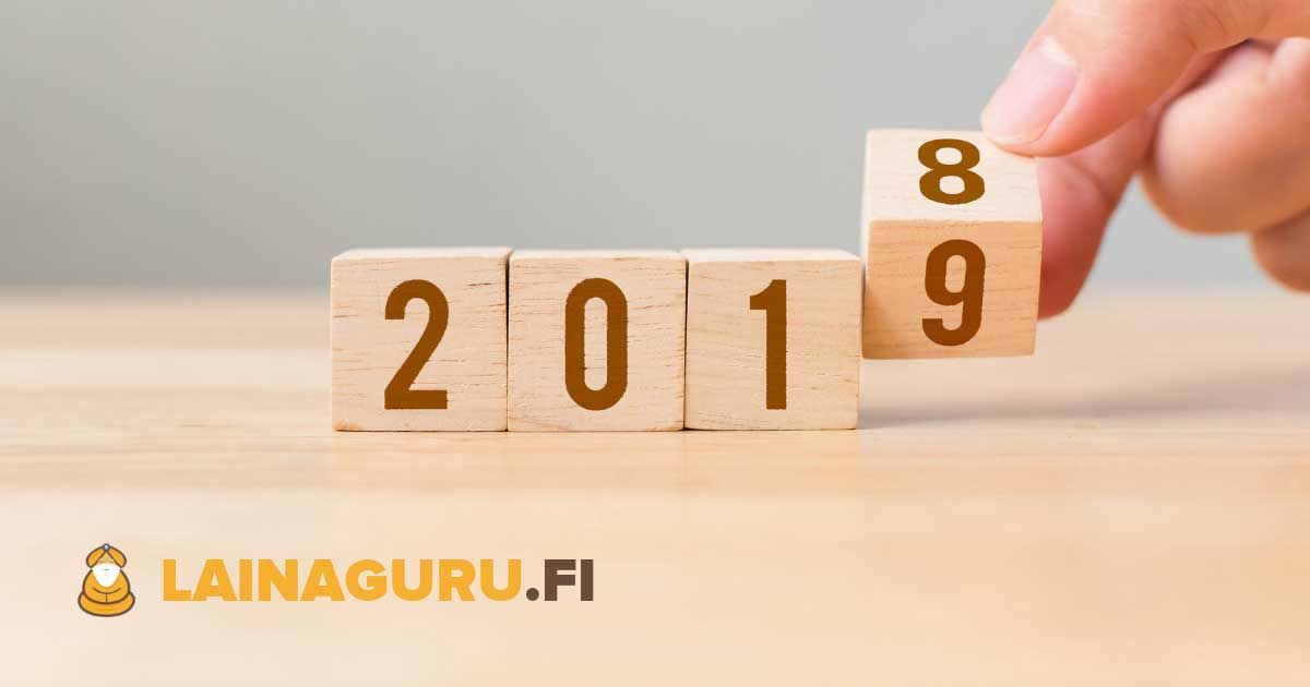 Löydä kaikki vuoden 2019 uudet lainapaikat